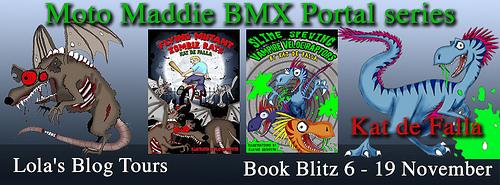 Moto Maddie BMX Portal series banner