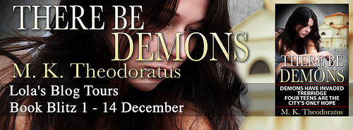 There be Demons banner