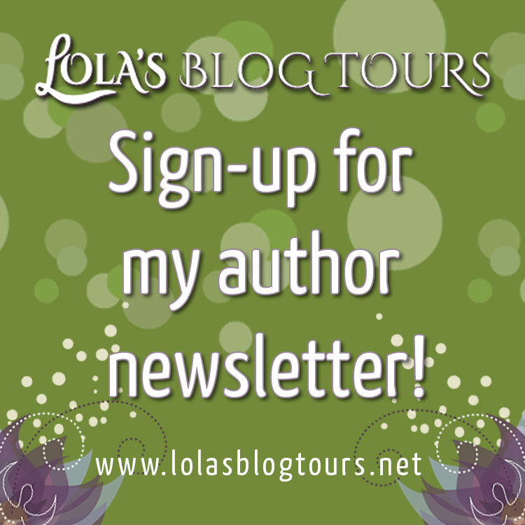 sign-up for my author newsletter graphic