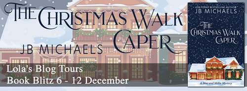 The Christmas Walk Caper banner