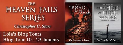 Heaven Falls series banner