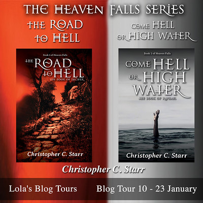 Heaven Falls series square banner