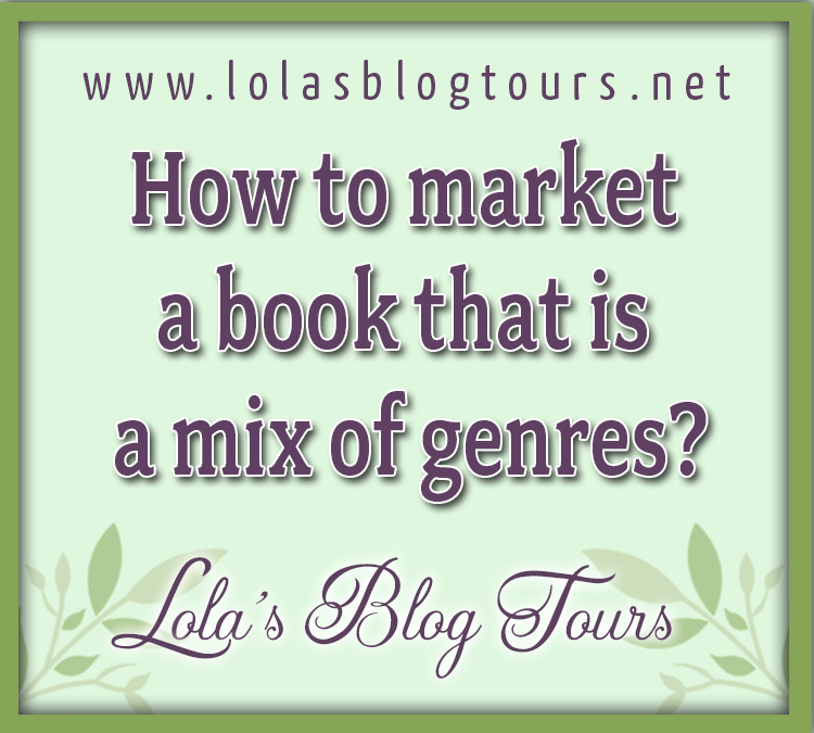 How to market a book that is a mix of genres? graphic