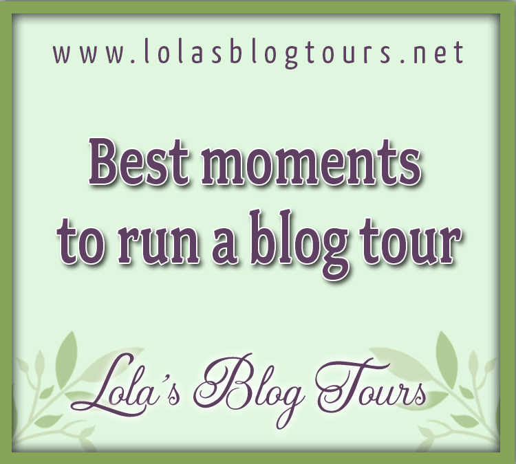 Best moments to run a blog tour graphic