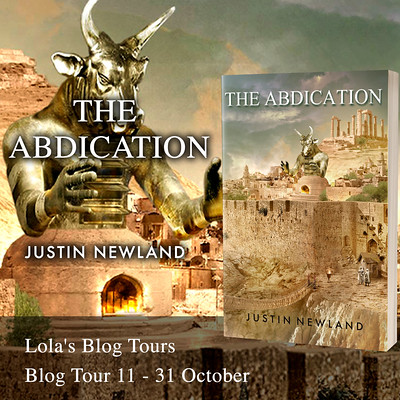 The Abdication square tour banner