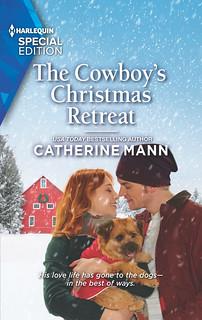 The Cowboy's Christmas Retreat book cover