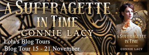 A Suffragette in Time tour banner